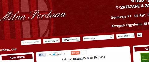 Jasa Pembuatan Website Bandung Murah  Jasa pembuatan website murah Bandung Nomor Cantik Milanperdana.com