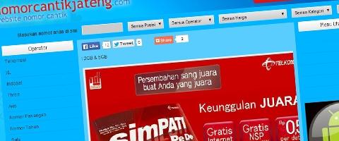Jasa Pembuatan Website Bandung Murah  Jasa pembuatan website murah Bandung Nomor Cantik Nomor Cantik Jateng