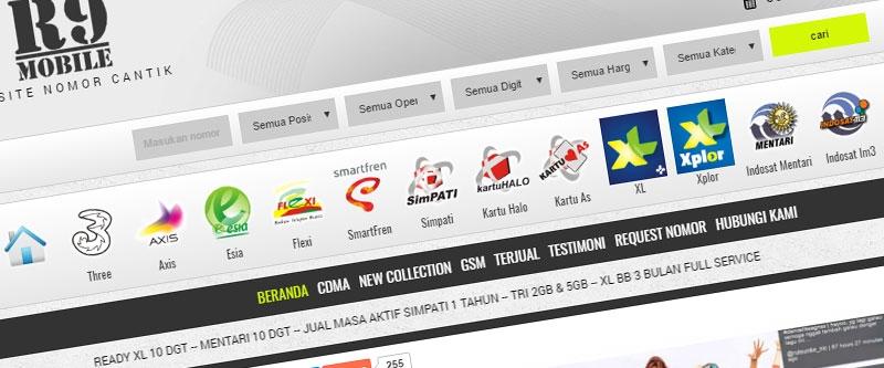 Jasa Pembuatan Website Bandung Murah  Jasa pembuatan website murah Bandung Nomor Cantik Nomor Cantik-r9