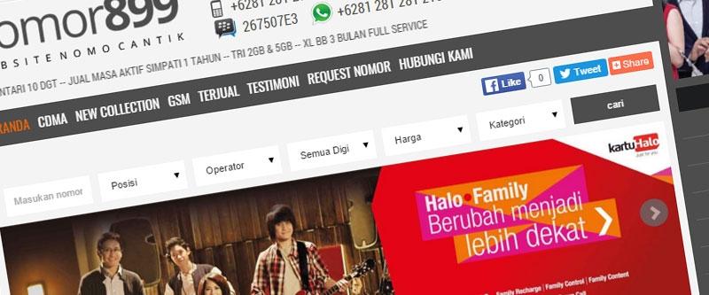 Jasa Pembuatan Website Bandung Murah  Jasa pembuatan website murah Bandung Nomor Cantik Nomor899