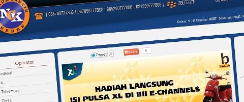 Jasa Pembuatan Website Bandung Murah  Jasa pembuatan website murah Bandung Nomor Cantik Nomorcantikkeren.com