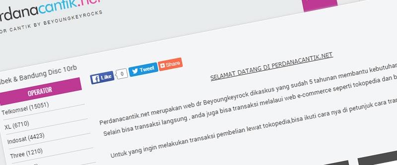 Jasa Pembuatan Website Bandung Murah  Jasa pembuatan website murah Bandung Nomor Cantik Perdana Cantik