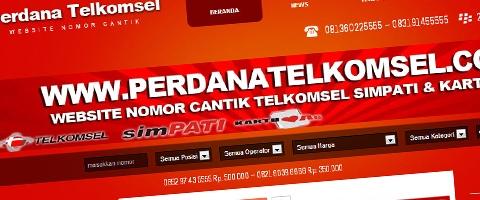 Jasa Pembuatan Website Bandung Murah  Jasa pembuatan website murah Bandung Nomor Cantik Perdana Telkomsel
