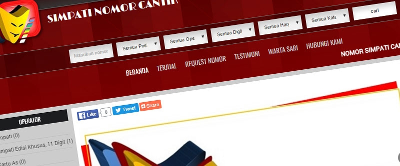 Jasa Pembuatan Website Bandung Murah  Jasa pembuatan website murah Bandung Nomor Cantik Simpat Nnomor Cantik