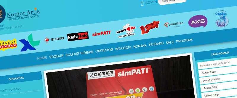 Jasa Pembuatan Website Bandung Murah nomorartis.com Jasa pembuatan website murah Bandung Nomor Cantik nomorartis.com