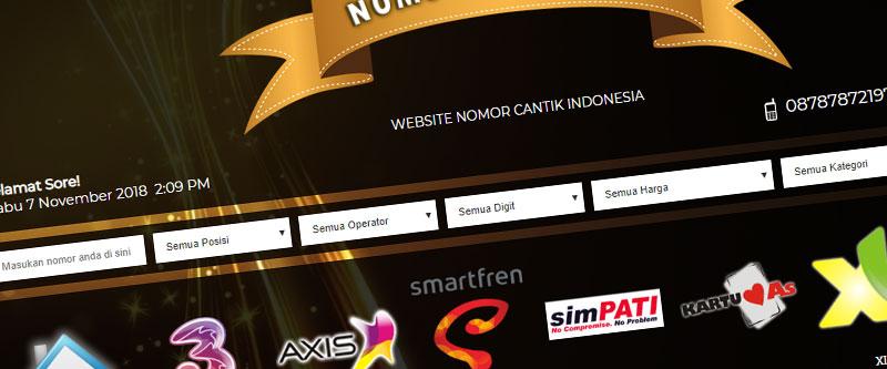 Jasa Pembuatan Website Bandung Murah nomorcantikindo.com Jasa pembuatan website murah Bandung Nomor Cantik nomorcantikindo.com
