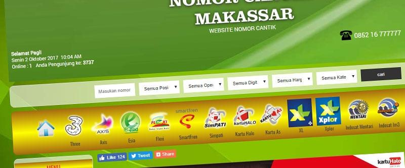 Jasa Pembuatan Website Bandung Murah nomorcantikmakassar.com Jasa pembuatan website murah Bandung Nomor Cantik nomorcantikmakassar.com