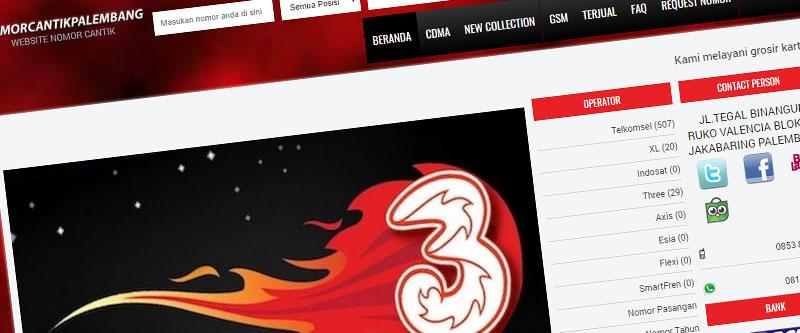 Jasa Pembuatan Website Bandung Murah nomorcantikpalembang.com Jasa pembuatan website murah Bandung Nomor Cantik nomorcantikpalembang.com