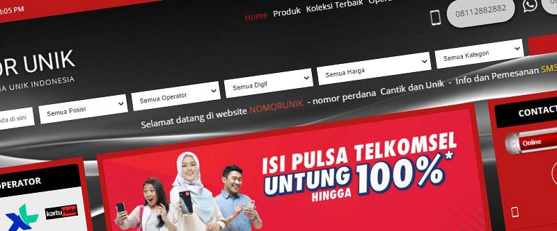 Jasa Pembuatan Website Bandung Murah nomorunik.id Jasa pembuatan website murah Bandung Nomor Cantik nomorunik.id