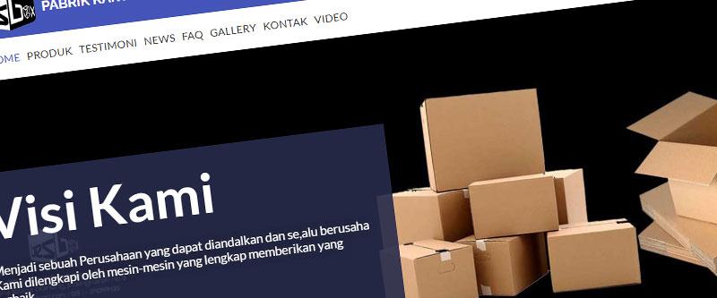 Jasa Pembuatan Website Bandung Murah pabrikkartonbox.com Jasa pembuatan website murah Bandung Company Profile pabrikkartonbox.com