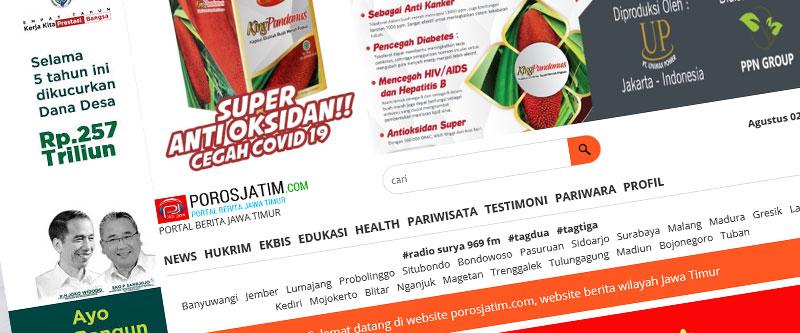 Jasa Pembuatan Website Bandung Murah Poros Jatim Jasa pembuatan website murah Bandung Berita Poros Jatim