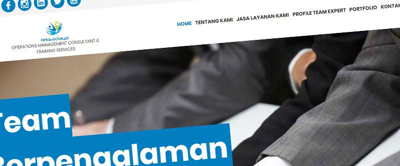 Jasa Pembuatan Website Bandung Murah reksadaya.co.id Jasa pembuatan website murah Bandung Company Profile reksadaya.co.id