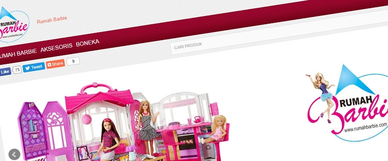 Jasa Pembuatan Website Bandung Murah Rumah Barbie Jasa pembuatan website murah Bandung Toko Online Rumah Barbie