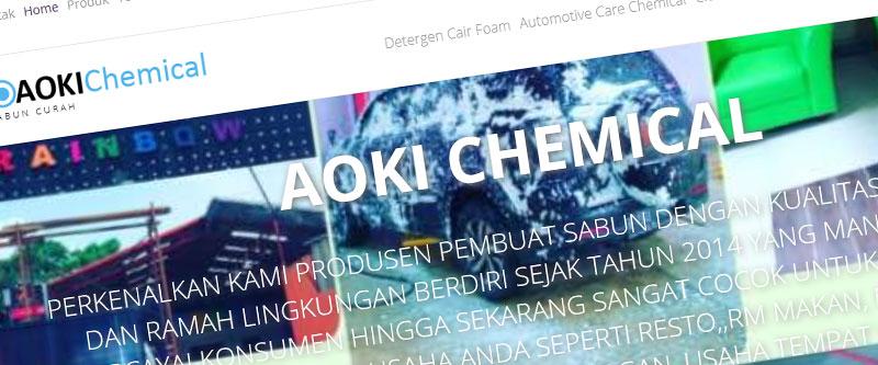 Jasa Pembuatan Website Bandung Murah Sabun Curah aoki Chemical Jasa pembuatan website murah Bandung Company Profile Sabun Curah aoki Chemical