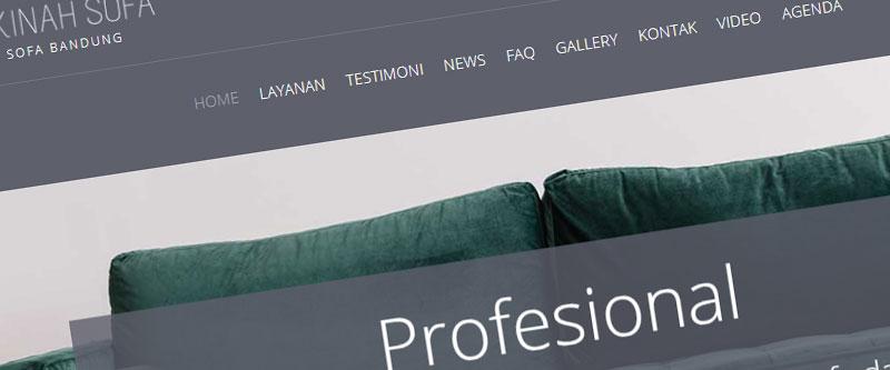 Jasa Pembuatan Website Bandung Murah sakinahsofa.com Jasa pembuatan website murah Bandung Company Profile sakinahsofa.com