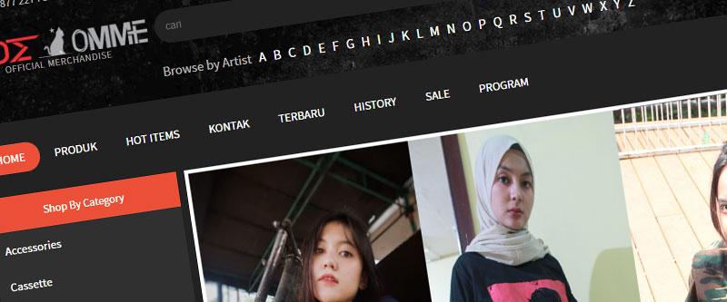 Jasa Pembuatan Website Bandung Murah sideommestore.com Jasa pembuatan website murah Bandung Toko Online sideommestore.com