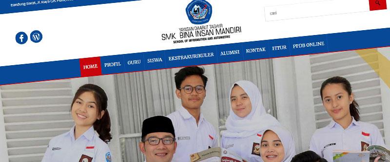 Jasa Pembuatan Website Bandung Murah smkbimgununghalu.sch.id Jasa pembuatan website murah Bandung Company Profile smkbimgununghalu.sch.id