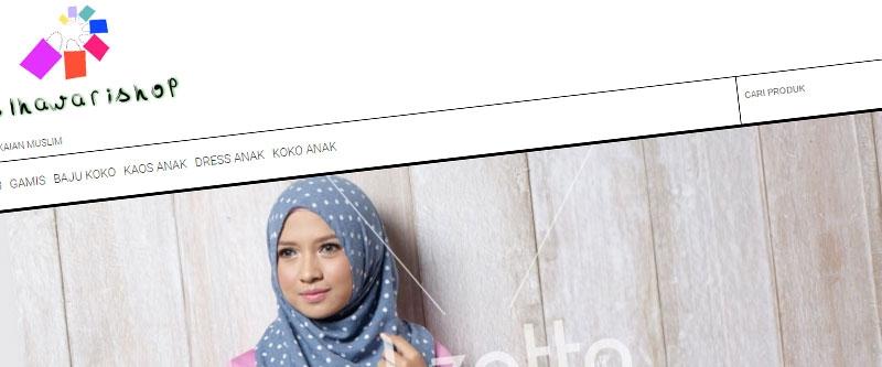 Jasa Pembuatan Website Bandung Murah  Jasa pembuatan website murah Bandung Toko Online Alhawari Shop