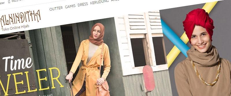 Jasa Pembuatan Website Bandung Murah  Jasa pembuatan website murah Bandung Toko Online Alninditha