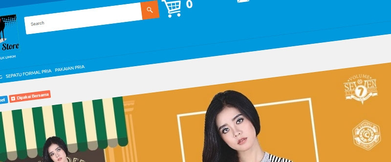 Jasa Pembuatan Website Bandung Murah  Jasa pembuatan website murah Bandung Toko Online Cibaduyut On Store