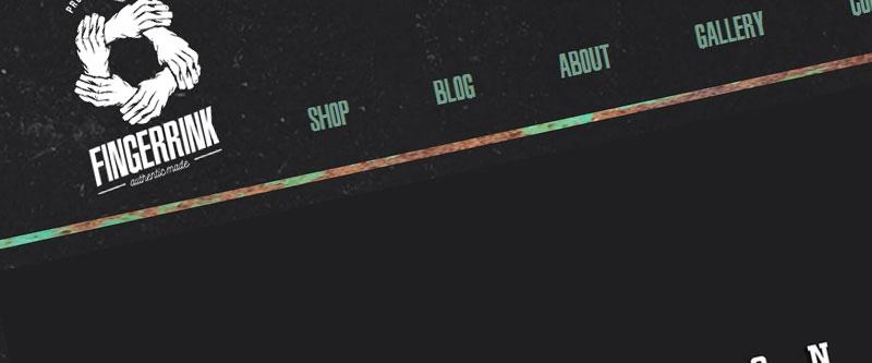 Jasa Pembuatan Website Bandung Murah  Jasa pembuatan website murah Bandung Toko Online Fingerrink