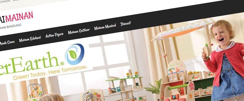 Jasa Pembuatan Website Bandung Murah  Jasa pembuatan website murah Bandung Toko Online Gerai Mainan