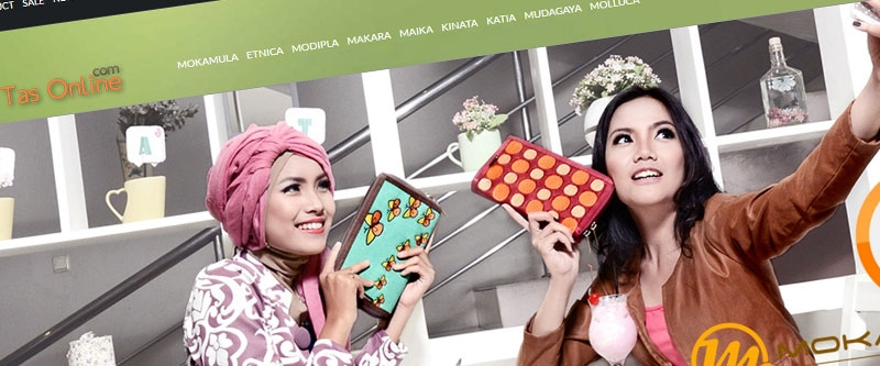 Jasa Pembuatan Website Bandung Murah  Jasa pembuatan website murah Bandung Toko Online Gerai Tas Online
