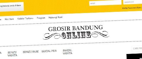 Jasa Pembuatan Website Bandung Murah  Jasa pembuatan website murah Bandung Toko Online Grosir Bandung Online