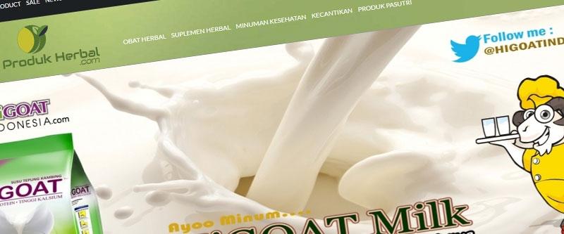 Jasa Pembuatan Website Bandung Murah  Jasa pembuatan website murah Bandung Toko Online Info Produk Herbal