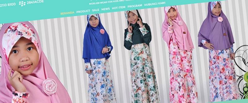 Jasa Pembuatan Website Bandung Murah  Jasa pembuatan website murah Bandung Toko Online Kika kids and teens