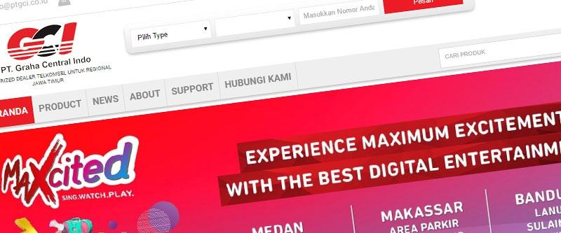 Jasa Pembuatan Website Bandung Murah  Jasa pembuatan website murah Bandung Toko Online ptgci.co.id