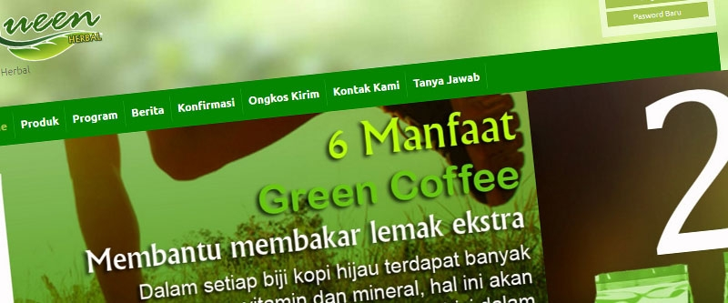 Jasa Pembuatan Website Bandung Murah  Jasa pembuatan website murah Bandung Toko Online Queen Herbal