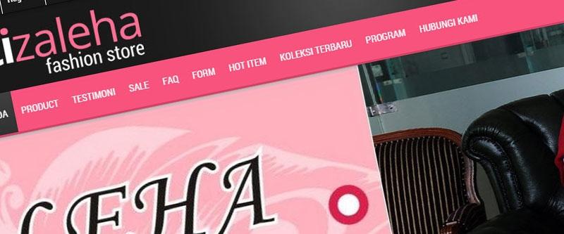 Jasa Pembuatan Website Bandung Murah  Jasa pembuatan website murah Bandung Toko Online Siti Zaleha