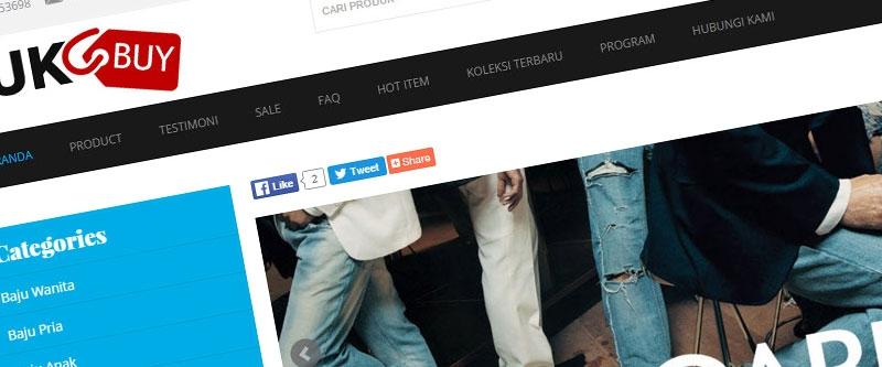 Jasa Pembuatan Website Bandung Murah  Jasa pembuatan website murah Bandung Toko Online Yuk Buy