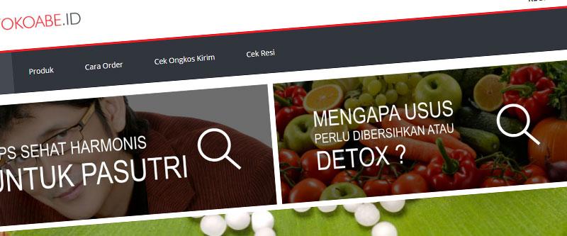 Jasa Pembuatan Website Bandung Murah tokoabe.id Jasa pembuatan website murah Bandung Toko Online tokoabe.id