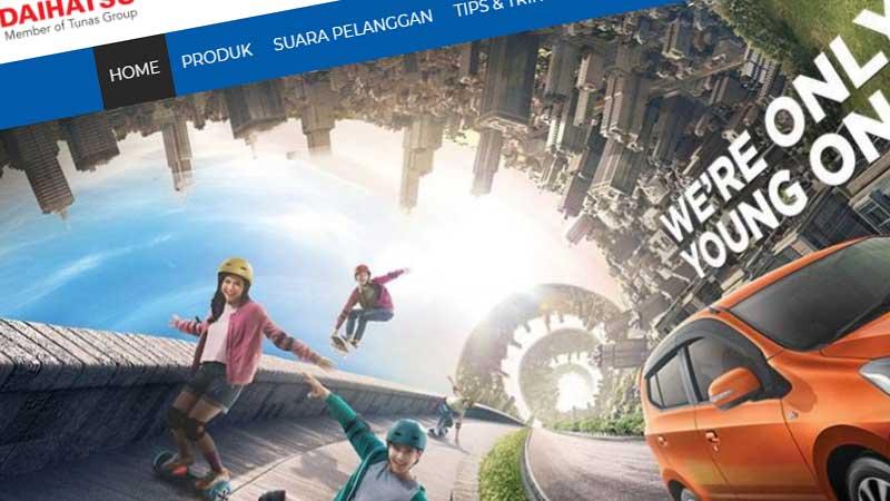 Jasa Pembuatan Website Bandung Murah tunasdaihatsubandung.id Jasa pembuatan website murah Bandung Company Profile tunasdaihatsubandung.id