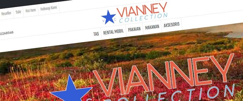 Jasa Pembuatan Website Bandung Murah Vianney Collection Jasa pembuatan website murah Bandung Toko Online Vianney Collection
